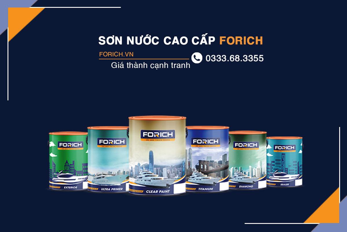Tuyển đại lý sơn nước | Mở đại lý sơn nước Forich | Kinhdoanh247.vn