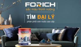 Tuyển đại lý sơn nước cao cấp Forich