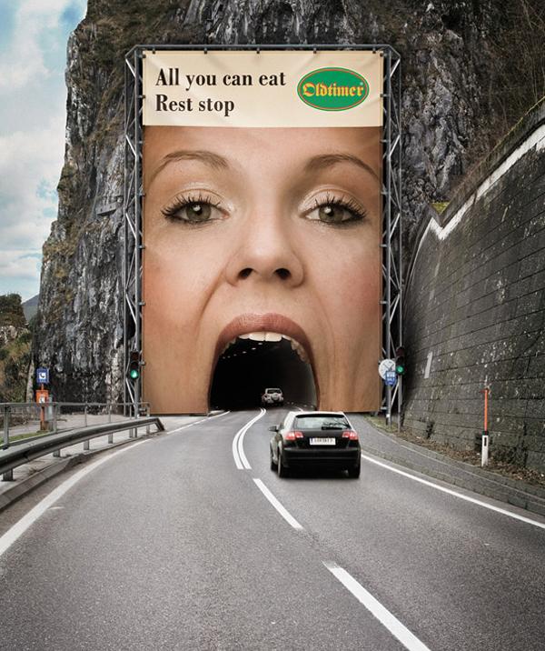 10 mẫu quảng cáo cực ấn tượng dù chỉ nhìn 1 giây | Kinhdoanh247.vn